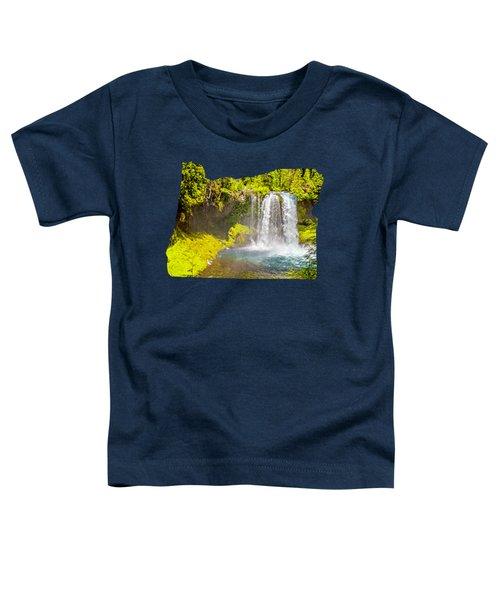 Koosah Falls Toddler T-Shirt
