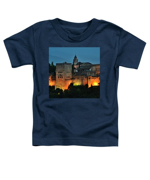 #laalhambra At Dusk - #ig_andalucia Toddler T-Shirt