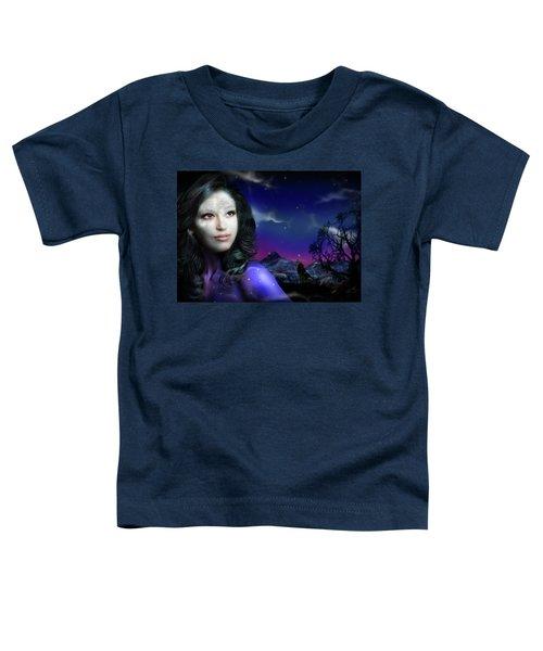 Lady Moon Toddler T-Shirt