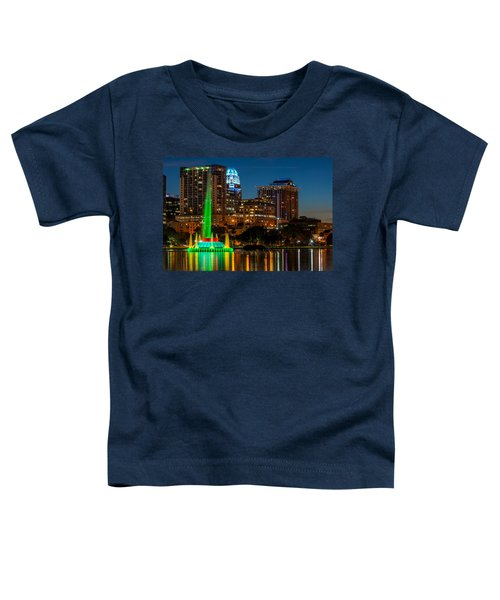 Lake Eola Fountain Toddler T-Shirt