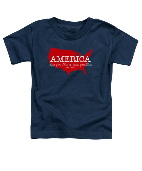 Land Of The Free Toddler T-Shirt