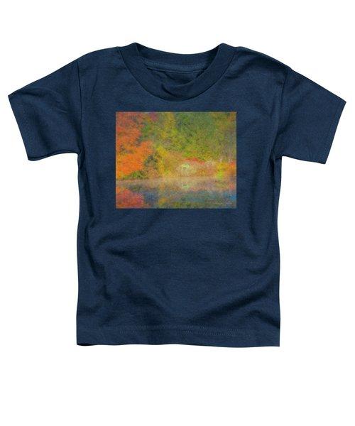 Langwater Pond Boathouse October 2015 Toddler T-Shirt