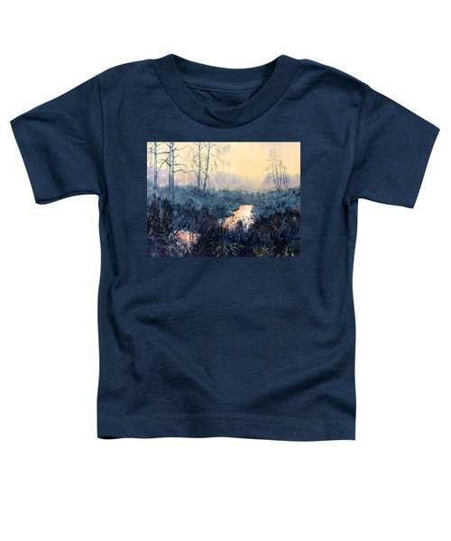 Last Light On Skipwith Marshes Toddler T-Shirt