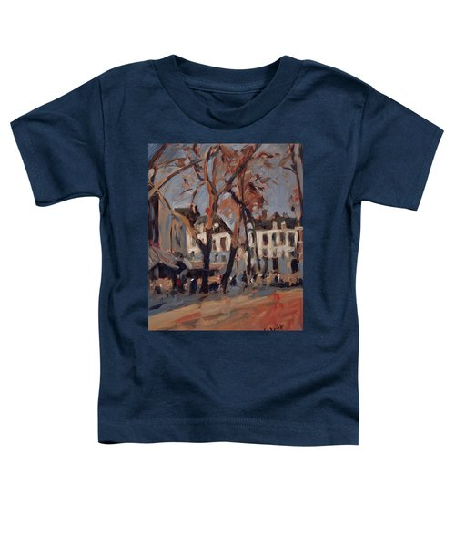 Last Sunbeams Our Lady Square Maastricht Toddler T-Shirt by Nop Briex
