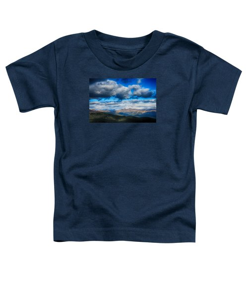Layers Of Clouds On Mount Evans Toddler T-Shirt
