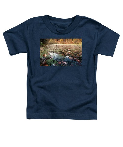 Leaves On The Lake Toddler T-Shirt
