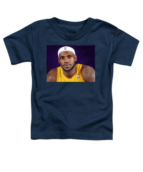 Lebron James Toddler T-Shirt