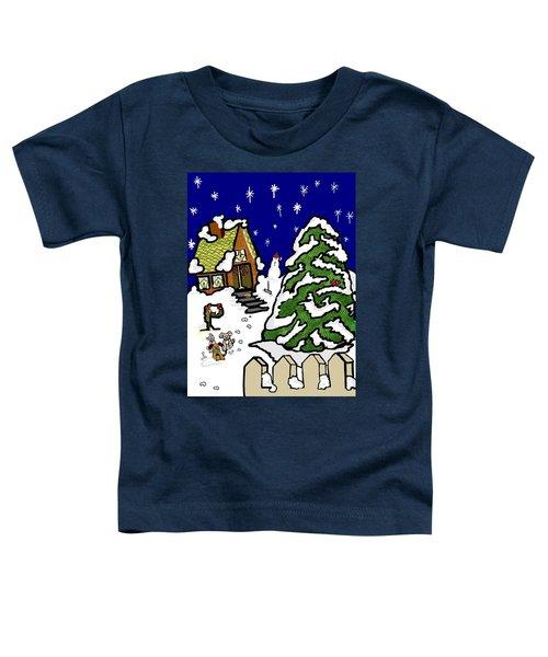 Let It Snow Toddler T-Shirt