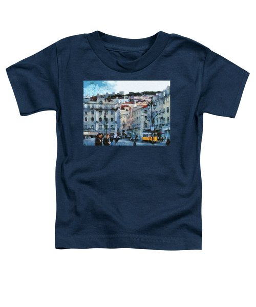 Lisbon Street Toddler T-Shirt