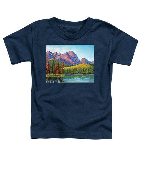 Little Redfish Lake Toddler T-Shirt