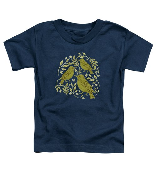 Little Wrens Hiding In The Hedgerow Toddler T-Shirt