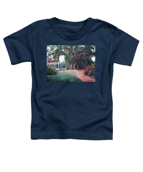 Live Oak Gardens Jefferson Island La Toddler T-Shirt