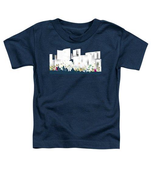Liverpool Skyline .1 Toddler T-Shirt