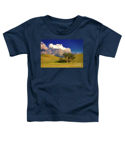 Lone Tree With Storm Clouds Toddler T-Shirt