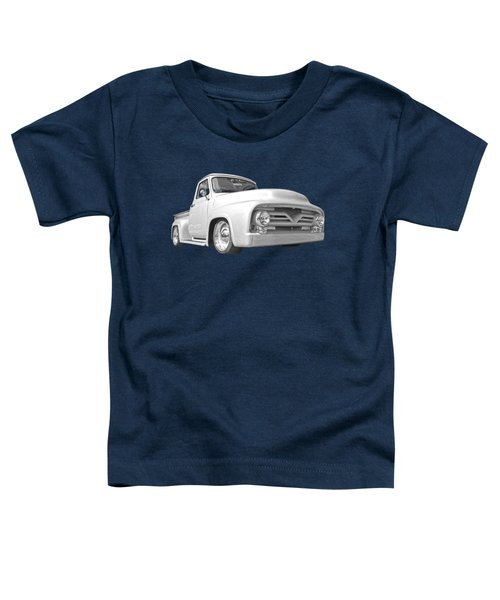 Long Hot Summer In Black And White Toddler T-Shirt