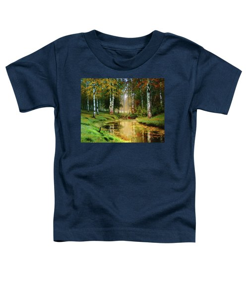 Long Indian Summer In The Woods Toddler T-Shirt