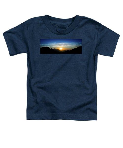 Los Angeles Desert Mountain Sunset Toddler T-Shirt