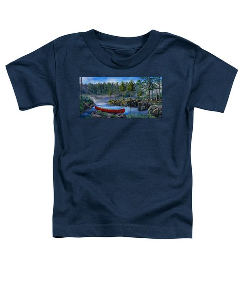 Lost In The Boundary Waters Toddler T-Shirt