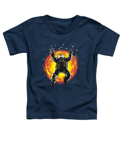 Lost In The Space Toddler T-Shirt by Carbine