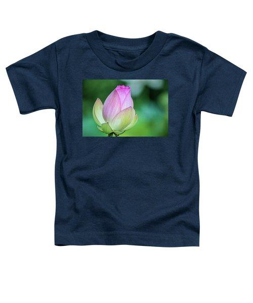Lotus Bud Toddler T-Shirt