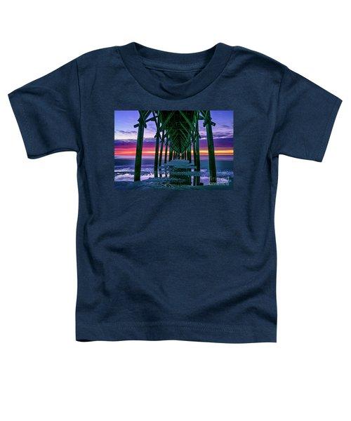 Low Tide Pier Toddler T-Shirt