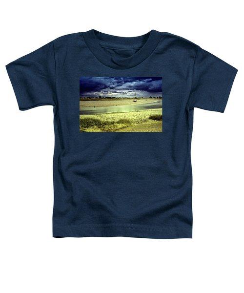 Maldon Estuary Towards The Sea Toddler T-Shirt