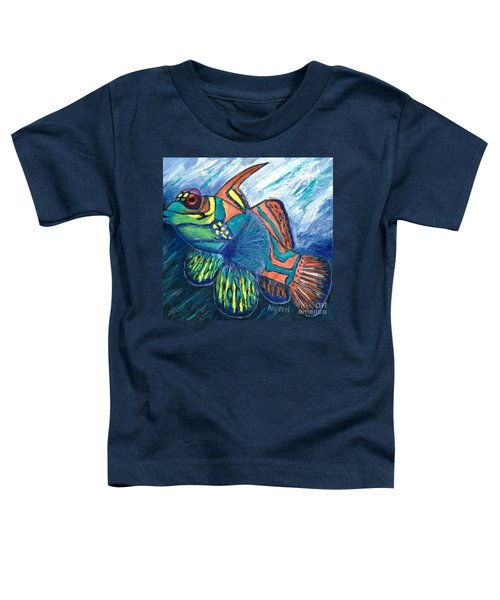 Mandarinfish Toddler T-Shirt