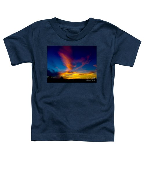 Sunset March 31, 2018 Toddler T-Shirt