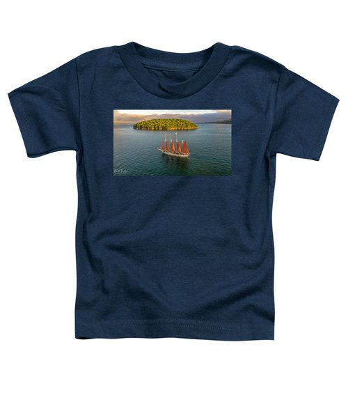 Margaret Todd Schooner Toddler T-Shirt
