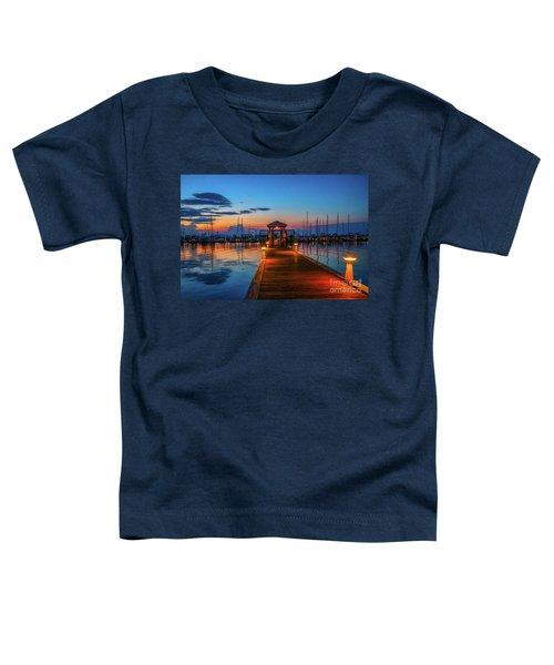Marina Sunrise Toddler T-Shirt