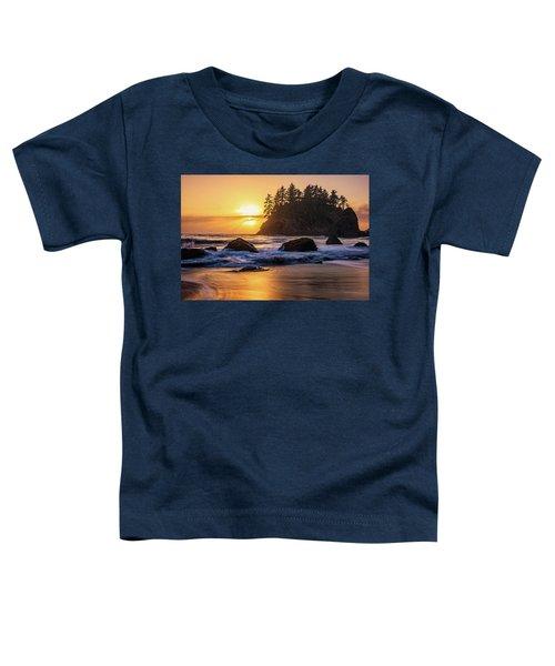Marine Layer Sunset At Trinidad, California Toddler T-Shirt