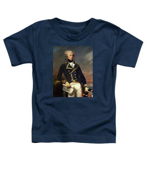 Marquis De Lafayette Painting - Joseph-desire Court Toddler T-Shirt
