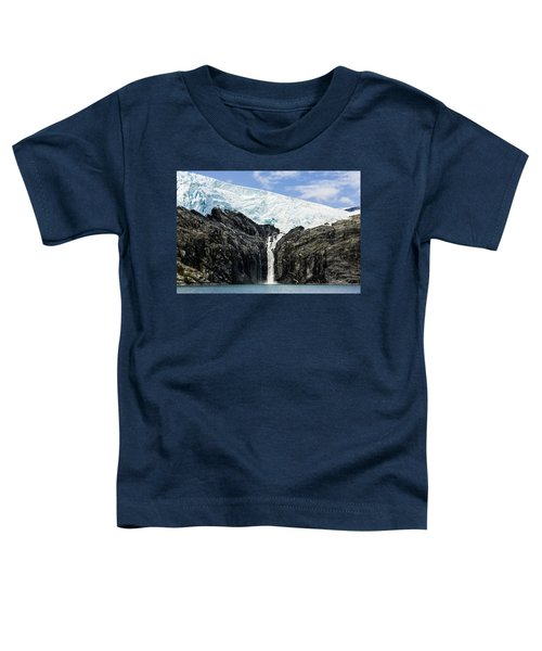 Meltwater From The Northland Glacier Toddler T-Shirt by Ray Bulson