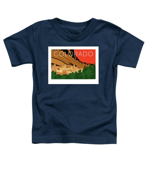 Mesa Verde Orange Toddler T-Shirt