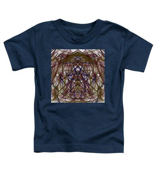 Mesmerizing Spirit Abstract Toddler T-Shirt
