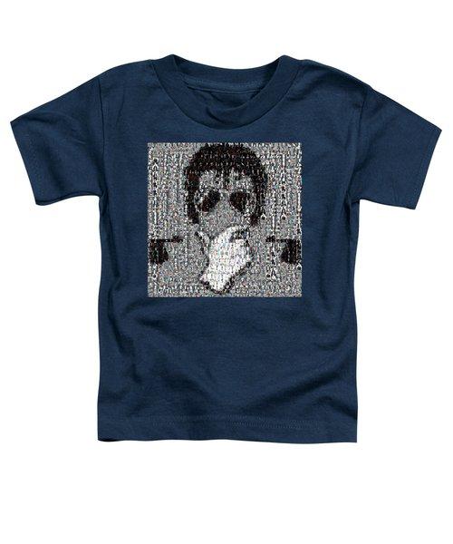 Michael Jackson Glove Montage Toddler T-Shirt