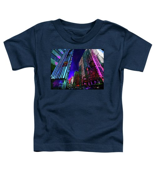 Michigan Avenue, Chicago Toddler T-Shirt