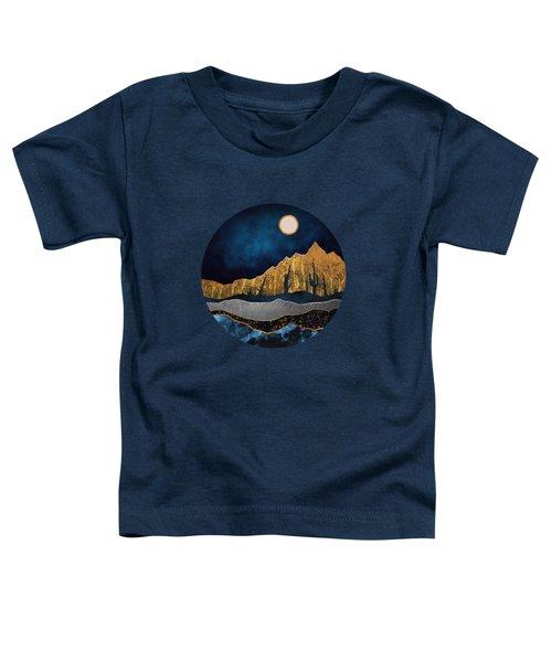 Midnight Desert Moon Toddler T-Shirt