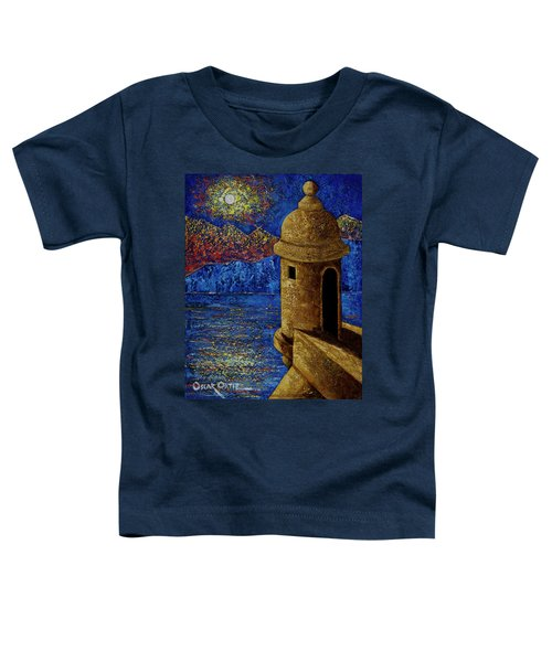 Midnight Mirage In San Juan Toddler T-Shirt