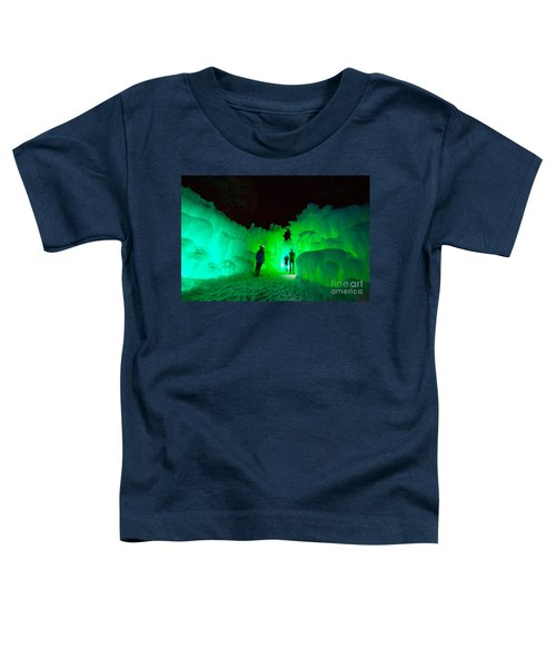 Ice Castles Of Minnesota Toddler T-Shirt