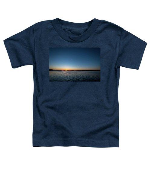 Mississippi River Sunrise Toddler T-Shirt