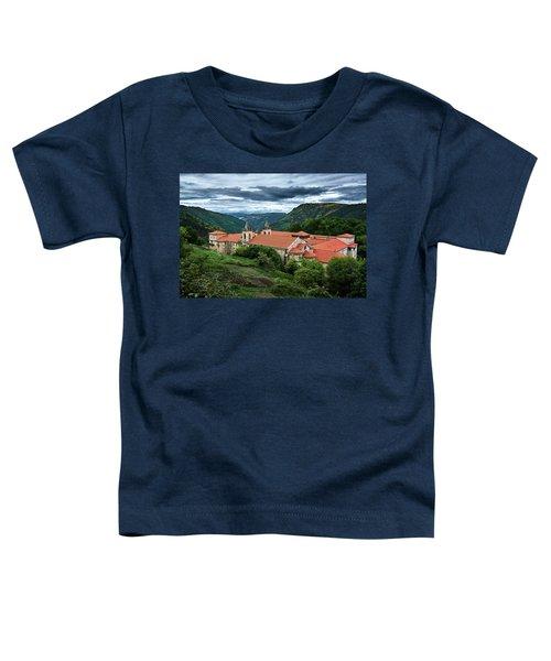 Monastery Of Santo Estevo De Ribas Del Sil Toddler T-Shirt