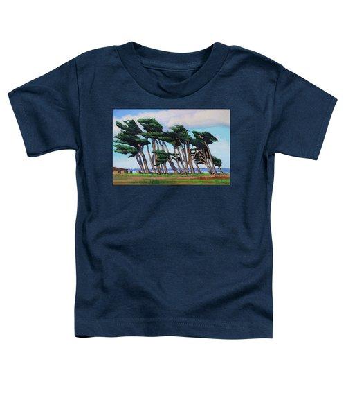 Monterey Cypress Row  Toddler T-Shirt
