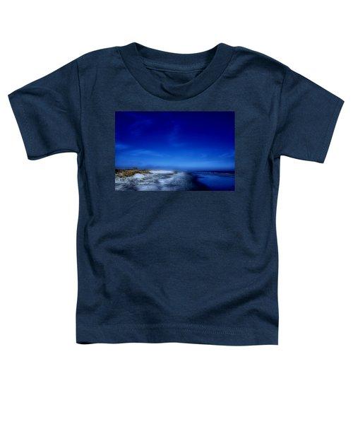 Mood Of A Beach Evening - Jersey Shore Toddler T-Shirt