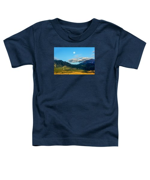 Moon Over Electric Mountain Toddler T-Shirt