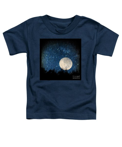 Moon, Tree And Stars Toddler T-Shirt