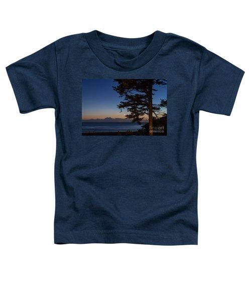 Moonlight At The Beach Toddler T-Shirt