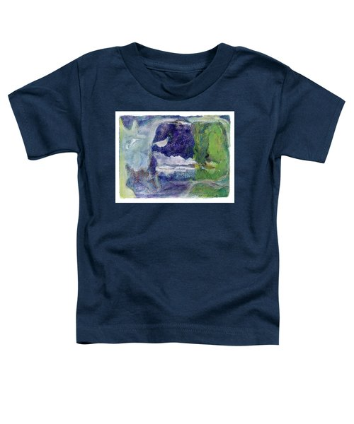 Moonlight Mountain Toddler T-Shirt