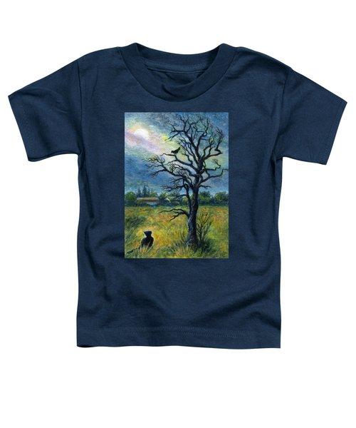 Moonlight Prowl Toddler T-Shirt