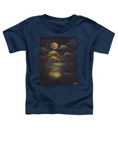 Moonlit Beach Guam Toddler T-Shirt